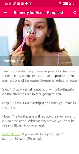 Skin and Face Care - acne, fairness, wrinkles 2.2.0 Screenshots 6