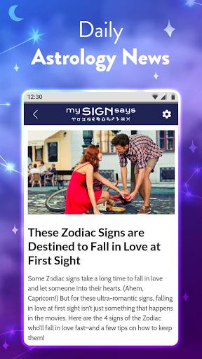 MySignSays - Love Horoscope, Zodiac & Tarot Cards modavailable screenshots 6