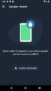 Speaker cleaner Mod Apk- Remove water & fix sound (No Ads) 1