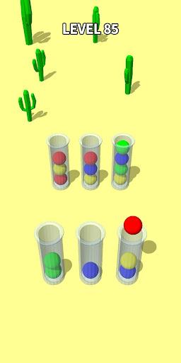 Color Sort 3D: Fun Sorting Puzzle - Ball Stack 0.3.3 screenshots 2