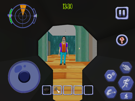 Scary Clown Man Neighbor. Seek & Escape Apkfinish screenshots 19