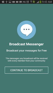 Broadcast Messenger 1