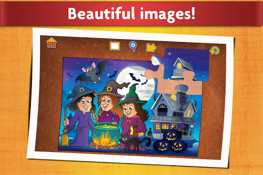 Jigsaw Puzzles Halloween Game for Kids  screenshots 5