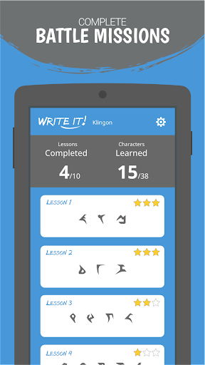 Write It! Klingon 3.1.12 screenshots 2