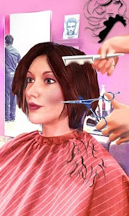 Girls Haircut, Hair Salon & Hairstyle Games 3D 1.9.1 Mod + Data for Android 2