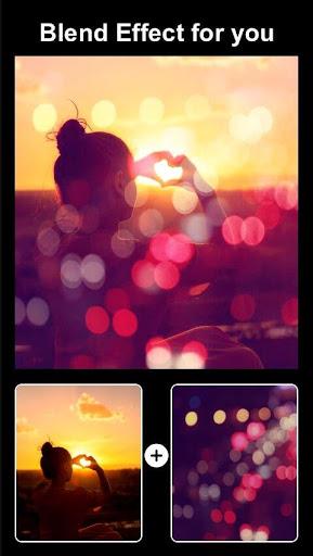 Insta Bokeh Blend-Square Blend Camera Photo Editor 2.18 screenshots 2