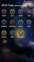 Year trace-APUS Launcher theme
