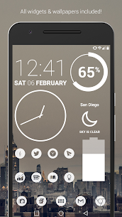Light Void Pro – White Minimal Icons v3.1.9 [Patched] 1