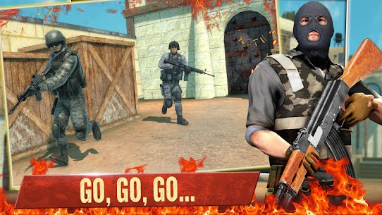 Descargar FPS Commando Secret Mission APK (2021) {Último Android y IOS} 1