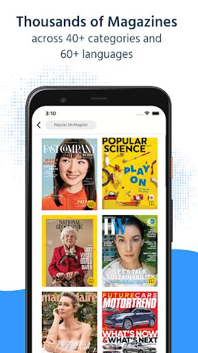 Magzter: Digital Magazines & Newspapers  Screenshots 1