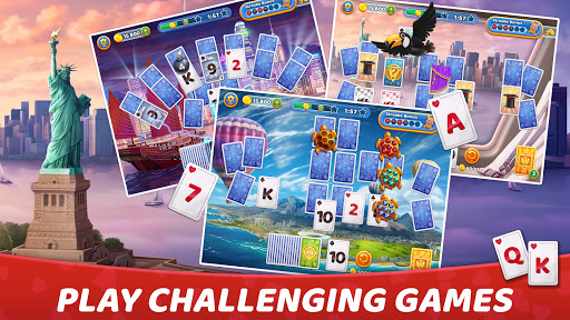 Solitaire Cruise: Classic Tripeaks Cards Games android2mod screenshots 15