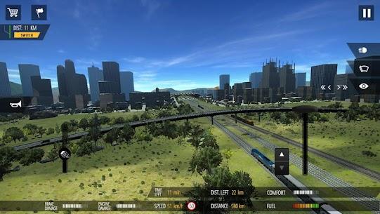 Train Simulator PRO 2018 v1.5 MOD (Money, Diamond) APK 4