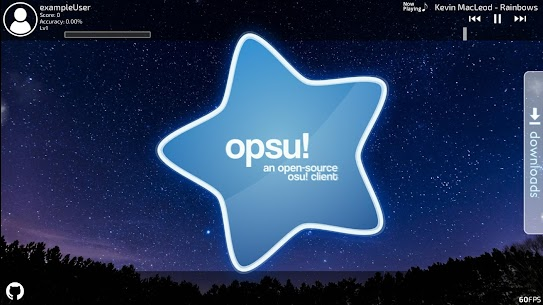Opsu!(Beatmap player for Android) For Pc (Download On Windows 7/8/10/ And Mac) 1