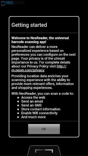 NeoReader QR & Barcode Scanner 4.14.02 Screenshots 1