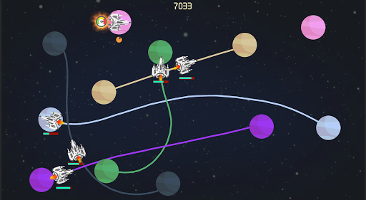 planet base - space arcade game screenshot 1
