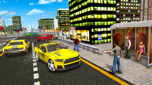 Extreme Taxi Driving Simulator - Cab Game apkdebit screenshots 6