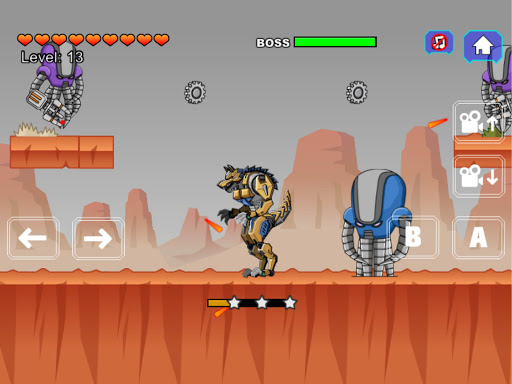 Robot Werewolf Toy Robot War 2.5 screenshots 6