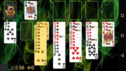 Spider Solitaire (Web rules)  screenshots 1
