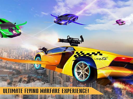 Flying Robot Car Games - Robot Shooting Games 2020 2.1 screenshots 8