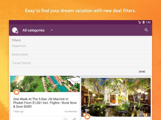 TravelPirates Top Travel Deals 3.2.6 Screenshots 8