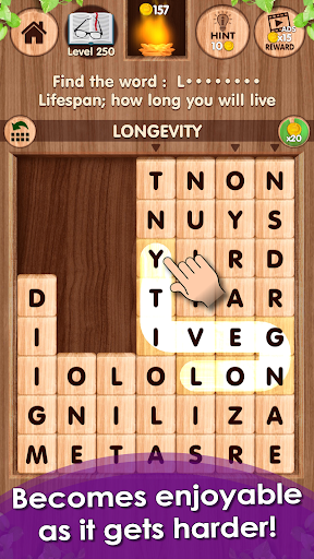 Falling! Word Games - Brain Training Games screenshots 5