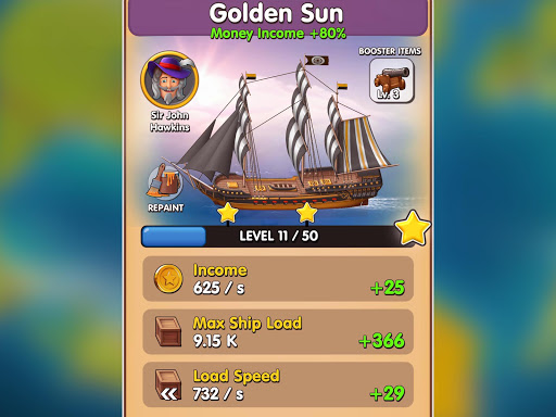 Pocket Ships Tap Tycoon: Idle Seaport Clicker modavailable screenshots 24