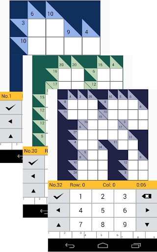 Kakuro Logic Puzzles 1.101 screenshots 4