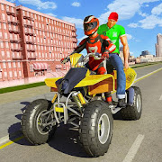 ATV Bike City Taxi Cab Simulator