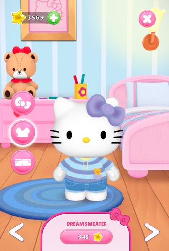 Talking Hello Kitty - Virtual pet game for kids screenshot 2