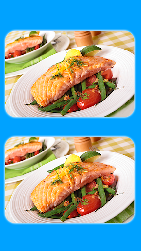 Find The Difference - Delicious Food Pictures screenshots 2