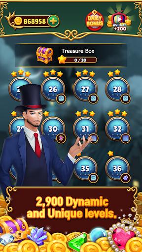 Jewels Mystery: Match 3 Puzzle Apkfinish screenshots 11