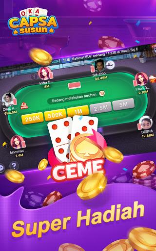 Capsa Susun Online:Domino Gaple Poker Free  screenshots 5