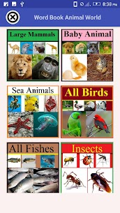Word Book Animal World For Pc | How To Use (Windows 7, 8, 10 And Mac) 1