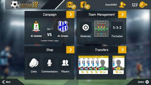 Golden Team Soccer 18 1.1 screenshots 6