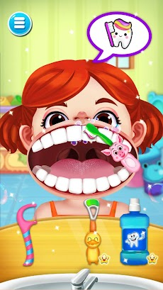 かわいい歯医者さんゲーム無料 - 医者ゲーム 無料のおすすめ画像2