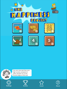 The Happiness Project: Play Games for Science