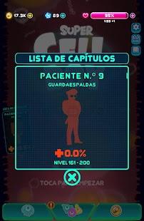 Virus go BOOM - Schermata del gioco sparatutto arcade carino