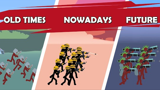 Age of Stickman Battle of Empires Mod Apk 1.0 (Inexhaustible Currency) 5