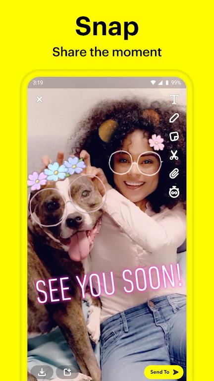 Snapchat poster 0