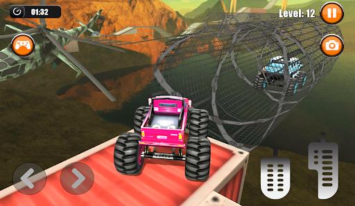 Ultimate Monster Truck: 3D Stunt Racing Simulator apkpoly screenshots 3