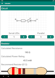 LED Resistor - Calculator