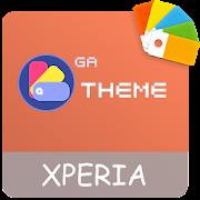 COLOR™ Theme | ORANGE Xperia - Design For SONY
