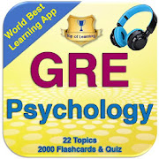 GRE Psychology Exam Review 22Topics, 2000 Quizzes  Icon