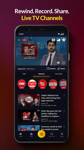 mjunoon.tv: Watch PSL 6 2021 Live and Free  Screenshots 4