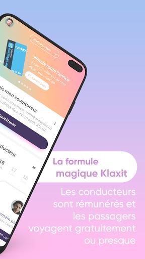 Klaxit - Covoiturage quotidien  screenshots 2