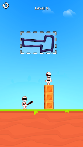 Draw Hero 3D: Drawing Puzzle Game apkslow screenshots 1
