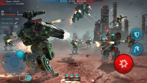Robot Warfare: Mech Battle 3D PvP FPS  screenshots 6