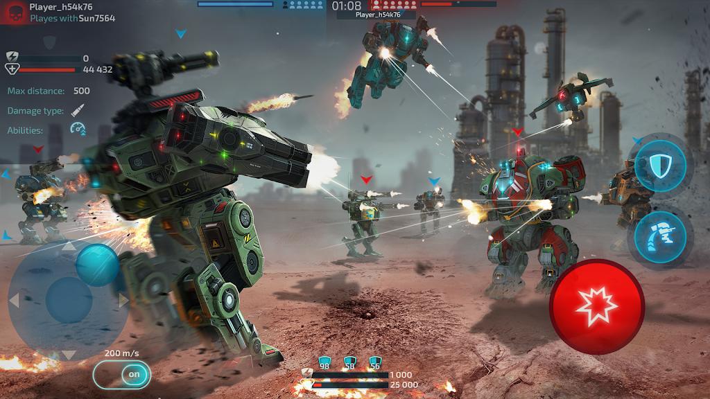 Robot Warfare: Mech Battle 3D PvP FPS  poster 5