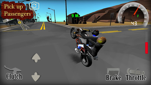 Wheelie King 4 - Online Getaway Wheelie bike 3D 1 screenshots 10