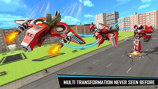 Drone Robot Car Game - Robot Transforming Games screenshots 3